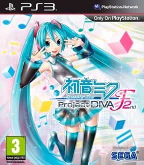 Hatsune Miku: Project DIVA F 2nd PS3 Cover