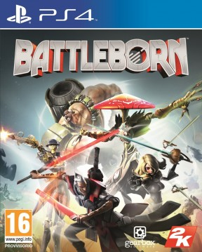 Battleborn PS4 Cover