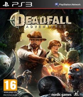 Deadfall Adventures: Heart of Atlantis PS3 Cover