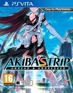 Akiba's Trip: Undead & Undressed PS Vita Cover