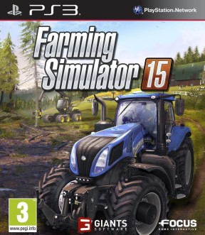 Farming Simulator 15 PS3 Cover