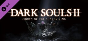 Dark Souls II - Crown of the Sunken King PS3 Cover