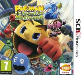 PAC-MAN e le Avventure Mostruose 2 3DS Cover