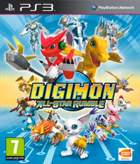 Digimon All-Star Rumble PS3 Cover