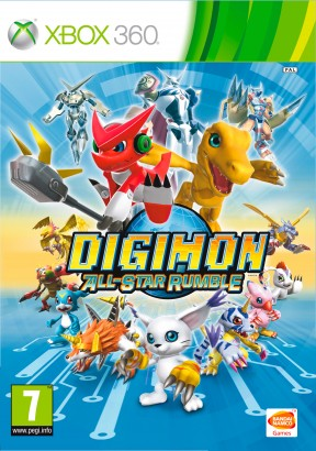 Digimon All-Star Rumble Xbox 360 Cover