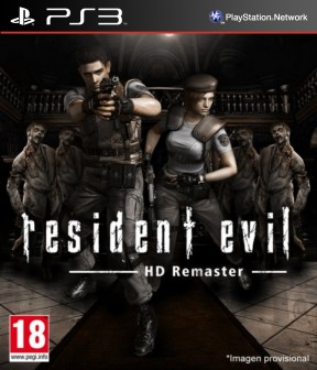 Resident Evil Remastered PS3 Cover