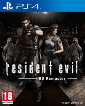 Resident Evil Remastered PS4 Cover