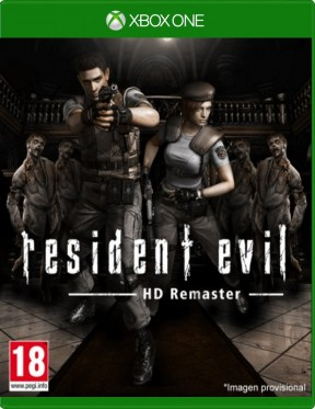 Resident Evil Remastered Xbox One Cover