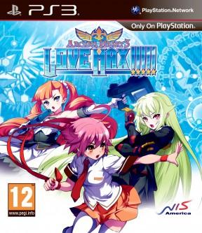 Arcana Heart 3: LOVE MAX!!!!! PS3 Cover