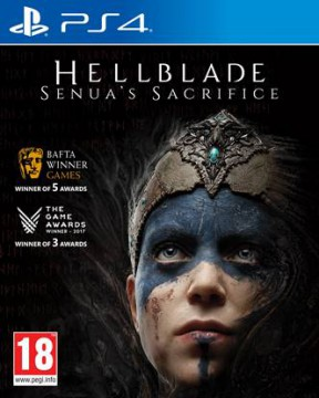 Hellblade: Senua's Sacrifice PS4 Cover