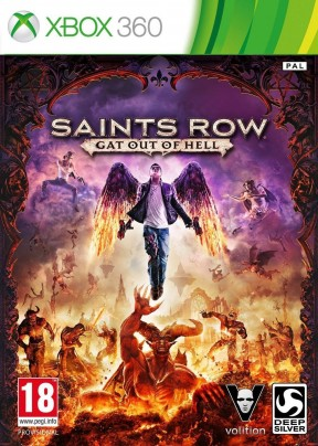 Saints Row IV: Re-Elected Xbox 360 Cover