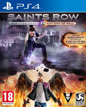 Saints Row IV: Re-Elected PS4 Cover