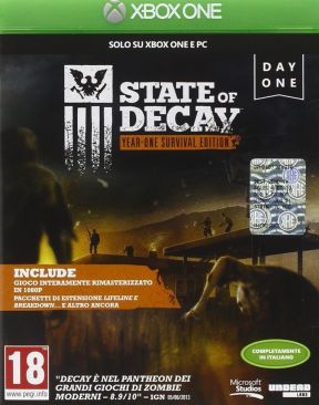 State of Decay: Year-One Survival Edition Xbox One Cover