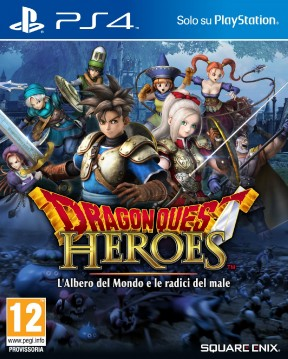 Dragon Quest Heroes: l'Albero del Mondo e le Radici del Male PS4 Cover