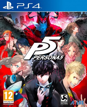 Persona 5 PS4 Cover