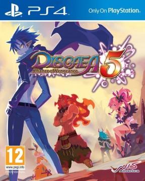 Disgaea 5: Alliance of Vengeance PS4 Cover