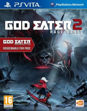 God Eater 2: Rage Burst PS Vita Cover