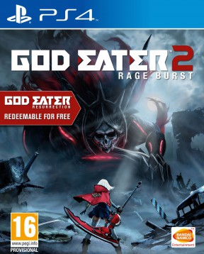 God Eater 2: Rage Burst PS4 Cover