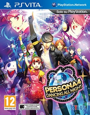 Persona 4: Dancing All Night PS Vita Cover