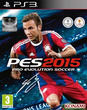 PES 2015 PS3 Cover