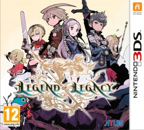 The Legend of Legacy 3DS Cover