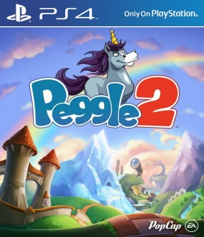 Peggle 2 PS4 Cover