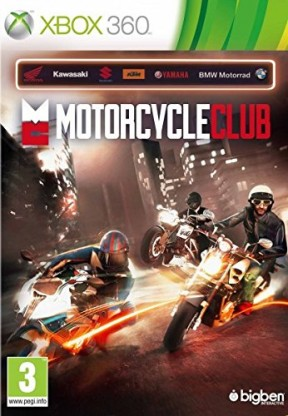 Motor Cycle Club Xbox 360 Cover