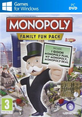 Monopoly Family Fun Pack PC Cover