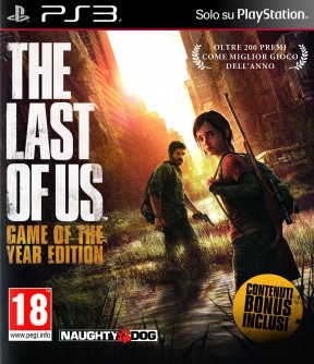 The Last of Us Game of the Year Edition PS3 Cover