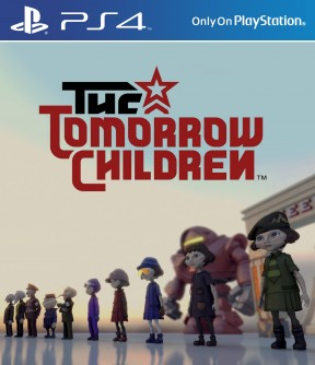 The Tomorrow Children PS4 Cover