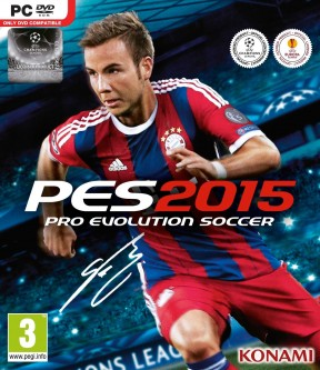 PES 2015 PC Cover