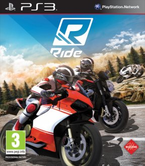 RIDE PS3 Cover
