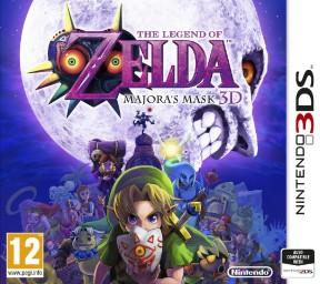 The Legend of Zelda: Majora's Mask 3D 3DS Cover