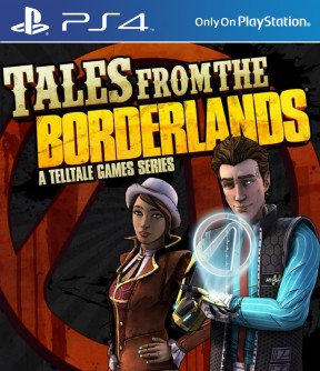 Tales from the Borderlands PS4 Cover
