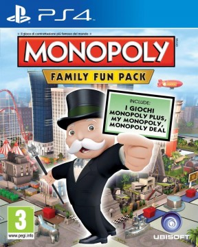 Monopoly Family Fun Pack PS4 Cover
