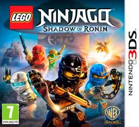 LEGO Ninjago: l'Ombra di Ronin 3DS Cover