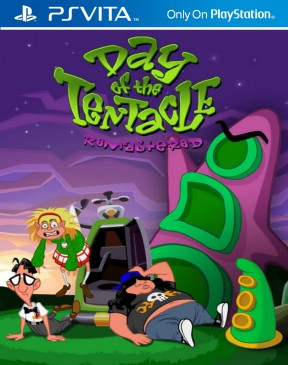 Day of the Tentacle Remastered PS Vita Cover