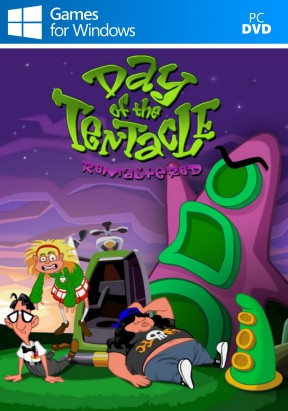 Day of the Tentacle Remastered PC Cover