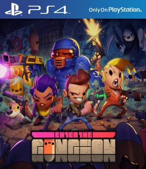 Enter the Gungeon PS4 Cover
