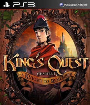 King's Quest: A Knight to Remember PS3 Cover