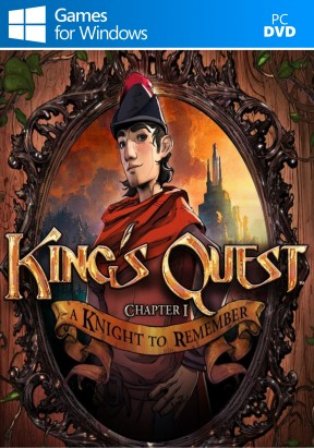 King's Quest: A Knight to Remember PC Cover