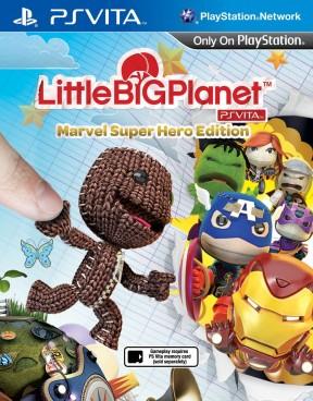 LittleBigPlanet PS Vita Marvel Super Hero Edition PS Vita Cover
