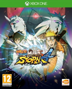 Naruto Shippuden: Ultimate Ninja Storm 4 Xbox One Cover