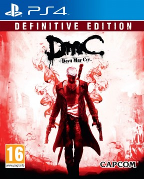 DMC Devil May Cry: Definitive Edition PS4 Cover