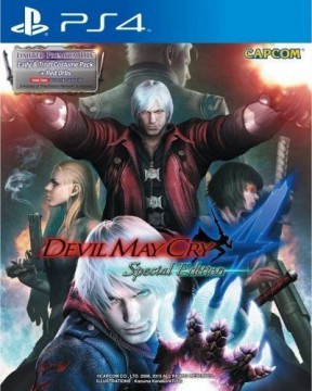 Devil May Cry 4: Special Edition PS4 Cover