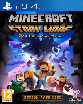 Minecraft Story Mode - Episode 1: The Order of Stone PS4 Cover