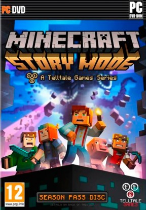 Minecraft Story Mode - Episode 1: The Order of Stone PC Cover
