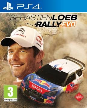 Sébastien Loeb Rally Evo PS4 Cover