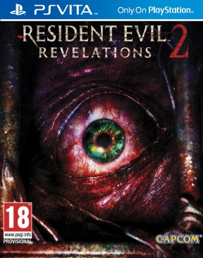 Resident Evil Revelations 2 PS Vita Cover