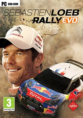 Sébastien Loeb Rally Evo PC Cover